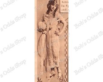 Lady 1920's Vintage Photo Digital Download
