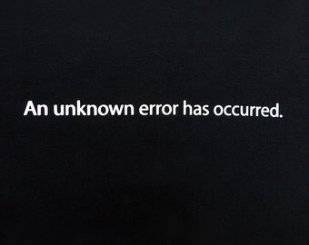 Unknown Error Ribeye Design graphic t-shirt new