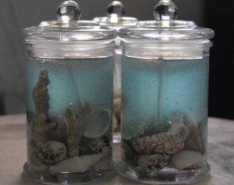 DUSTYlittleDREAMS EXTRA LARGE Designer Jelly Candles - Beachside Dreams