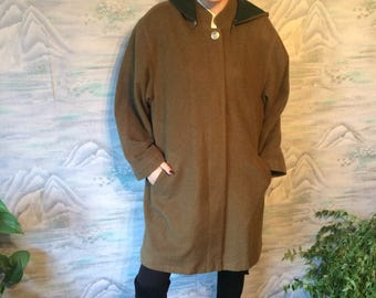 Loden coat | Etsy