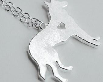 German Shepherd necklace jewelry GSD dog jewelry necklace shepherd dog