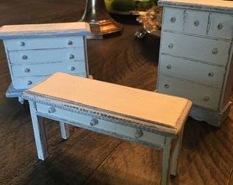 Hand-painted Doll Furniture