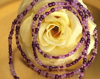 Violet Crush Waistbeads
