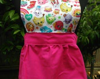 Kids shopkins mini apron