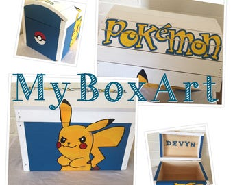 Personalized trunk, Baby chest, Toy box, Memory Chest