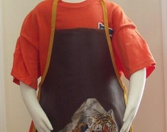 Child's Apron - Tiger Motif C-41-2007