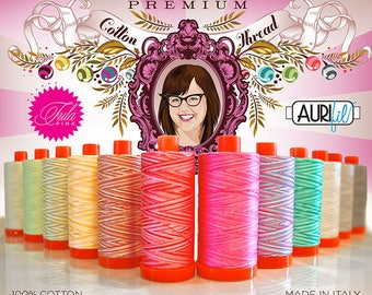 SALE***Premium Collection Large Aurifil Thread Kit by Tula Pink