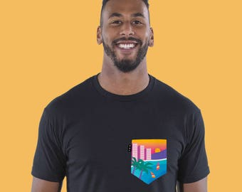 Miami Pocket Tee