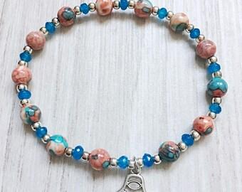 Lucky Blue Charm Bracelet