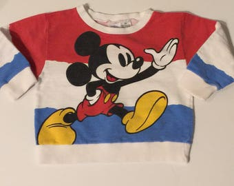 Mickey Mouse vintage sweatshirt , 2toddler