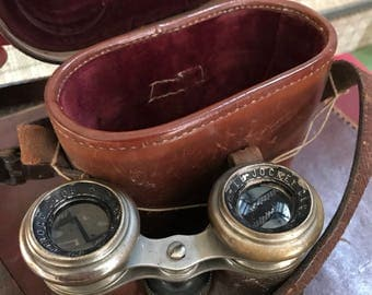 Le Jockey Club Vintage Binoculars 1900's