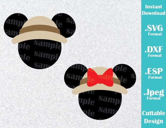 Instant Download Svg Disney Animal Kingdom Inspired Mickey