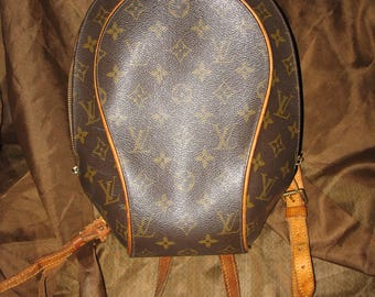 Vintage Louis Vuitton LV Ellipse Sac A Dos Backpack Purse