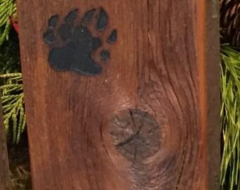 Fly Box, Barn Wood, Bears Paw Fly Fishing Box