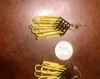 Small Hufflepuff Earrings