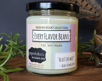 LARGE Every Flavor Bean Mystery Soy Candle