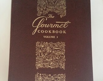 The Gourmet Cookbook Volume 1 Revised 1976, Seventh Edition