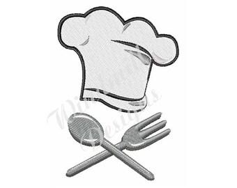 Chefs Hat - Machine Embroidery Design