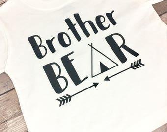 Brother Bear Shirt, Tribal Shirt, TeePee Shirt