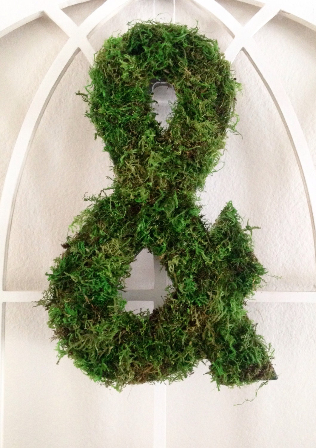 Mossy Farmhouse Ampersand