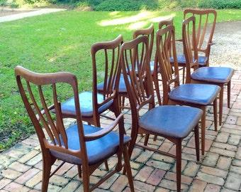 Kofod Larsen Klimt Dining Arm Chair(s) Teak Mid Century Danish