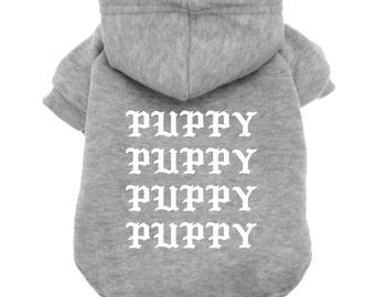 Dog Hoodie - Puppy clothes - Pablo - Kanye West - Yeezy - Yeezus - Dog Shirt - Pet Shirt - Dog tee - Dog clothes - Pet Clothes - Dog Sweater