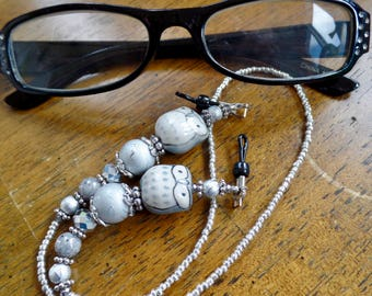 Silvery Moon Eyeglasses Holder