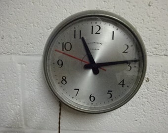 Synchronome London Industrial Clock/Vintage/1950's