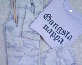 Gangsta Napper Tshirt - Mommy and Me Tshirts