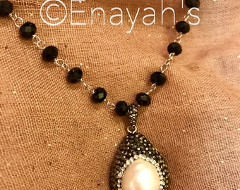 Druzy Chain necklace sold out