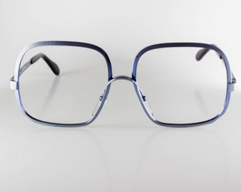 Neostyle Boutique 319 859 Made In Germany CE Unisex 54-16-135 Vintage Glasses Blue NOS Deadstock -NEOF400H-1