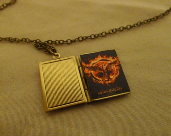 Book Locket * Hunger Games - Mocking Jay* Games of Thrones * Princess Bride * Must See