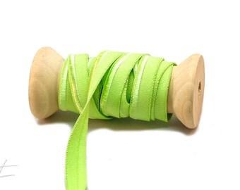 3m - elastic piping Apple green - matte & glossy (EUR 1.50 / m)