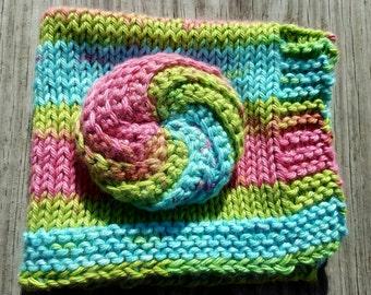 Handmade Dishcloth and Scrubby