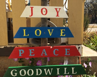 Reclaimed Wood Christmas Tree Decoration