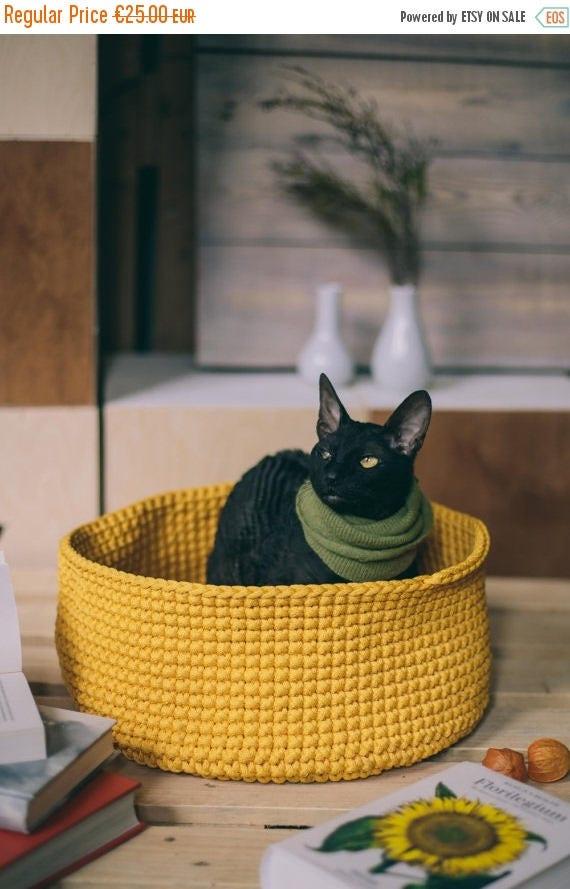Perfect toy basket // Handmade crochet basket // Toys Bag // Home storage // Polyester rope basket