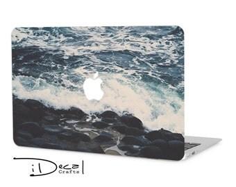 """Ocean macbook decal macbook skin macbook sticker Macbook Air 11, Macbook Air 13 & Mac Pro 13 Retina, Macbook 12"""", Macbook Pro 15 Retina"""