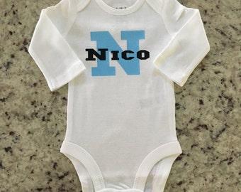 Newborn Name Onesie