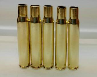 30-06 Brass, .30-06 Rifle Brass for Reloading Bullets, 3006 SPG Range Brass, 50 Reloading Brass Casings, Clean Empty Bullet Shells