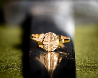 Last piece: Byzantine stamp ring