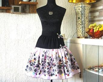Sweet Lolita flower skirt (kawaii), fairy kei, harajuku,