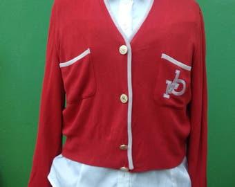 ROCCO BAROCCO-Italia | Made in Italy | Roccobarocco Jacket | Original Jacket | Vintage Coral Jacket | Roccobarocco Vintage | Roccobarocco | 90s