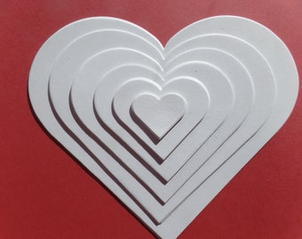 Heart Die Cuts (pack of 24)