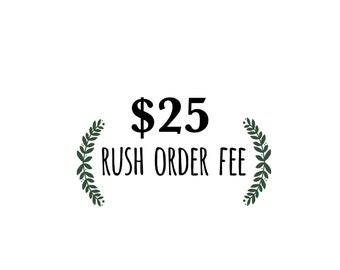 Rush item fee