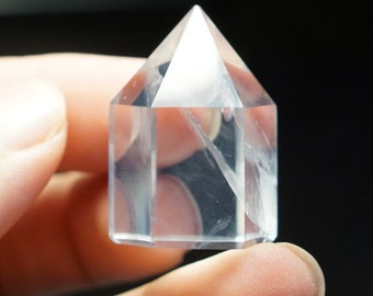 VVS 120CT 100% Natural Clear Quartz Facet Rough Specimen CQTZ008
