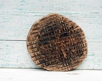 "9"" inches oak slice,Wood Slice,Stump Slice,Cake Stand,Wooden Platter,Tree Slice,Reclaimed Wood slice,Oak Wood Slice,Wooden Charger,Oak Slab"