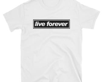Oasis - Live Forever T-Shirt