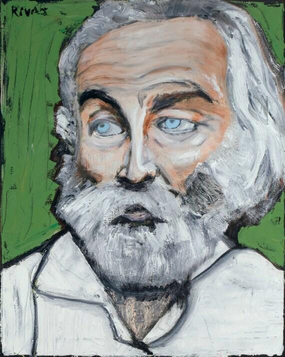 Walt Whitman--8x10 Hand-Numbered Print