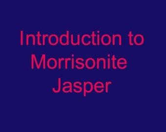 Introduction to Morrisonite Jasper