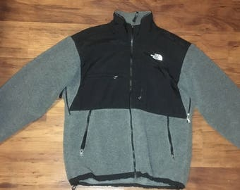 Gray The North Face Full Zip-Up Jacket